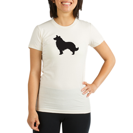 Collie Organic Women's Fitted T-Shirt