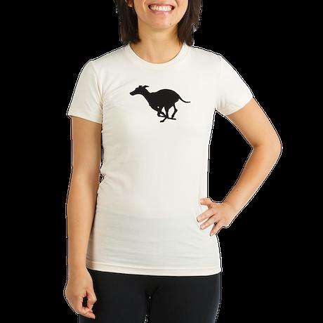 Grey Hound Organic Women's Fitted T-Shirt