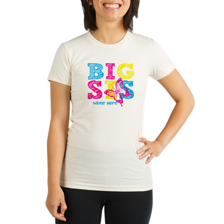 Butterfly Big Sis T-Shirt