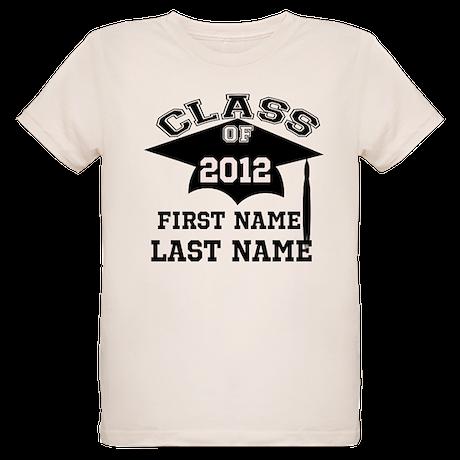 Customizable Senior Organic Kids T-Shirt