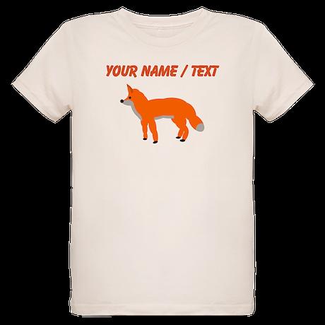 Custom Orange Fox Pup T-Shirt