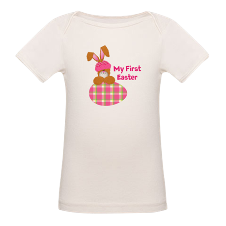 Customizable: My First Easter Organic Baby T-Shirt