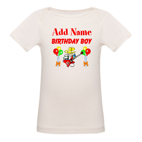 PERSONALIZE THIS Organic Baby T-Shirt