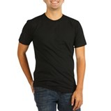 Organic Men's Fitted T-Shirt (dark)