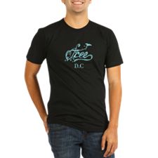 Cool Free d.c Organic Men's Fitted T-Shirt (dark)