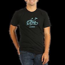 Cute Free jazmin Organic Men's Fitted T-Shirt (dark)