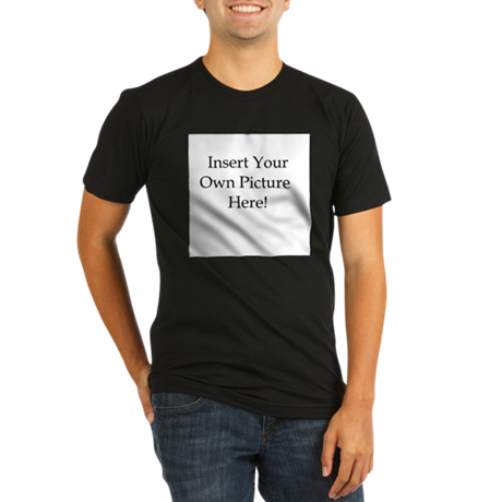 Upload your own picture Organic Men's Fitted T-Shi