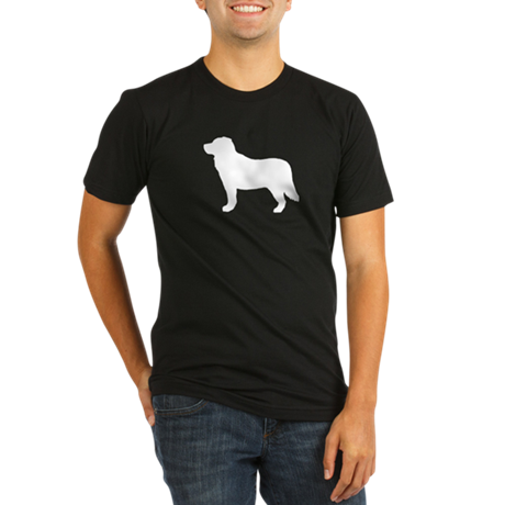 Bernese Mountain Dog Organic Men's Fitted T-Shirt