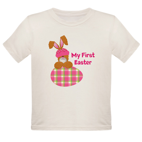 Customizable: My First Easter Organic Toddler T-Sh