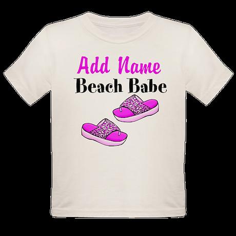 BEACH BABE Organic Toddler T-Shirt