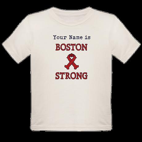 Boston Strong Ribbon Lt - Personalized! T-Shirt