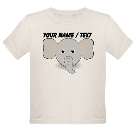 Custom Cute Elephant T-Shirt
