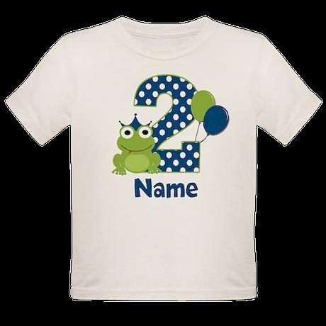 2nd Birthday Frog T-Shirt