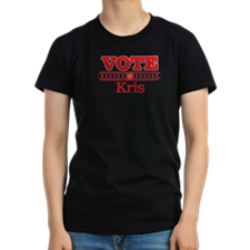 Funny Vote for kris T-Shirt