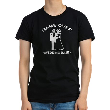 Game Over (Your Wedding Date) Women's Fitted T-Shi