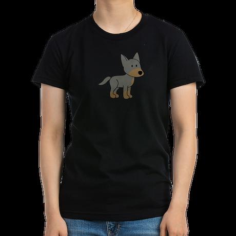 Cute Australian Cattle Dog Women's Fitted T-Shirt