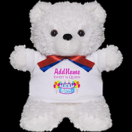 SWEET 16 QUEEN Teddy Bear
