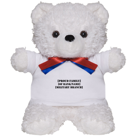 PERSONALIZED Military Family Teddy Bear