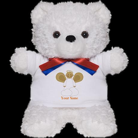 Personalized Christmas Angel Teddy Bear