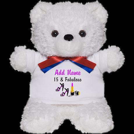 PERSONALIZED 15 YR OLD Teddy Bear