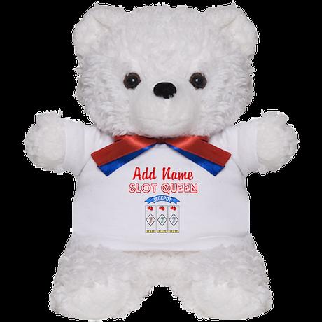 SLOT QUEEN Teddy Bear