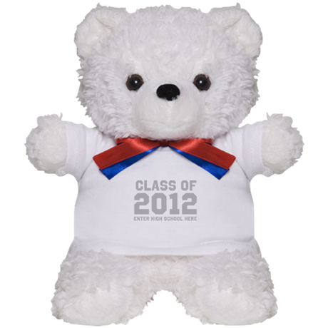 2012 Graduation Teddy Bear