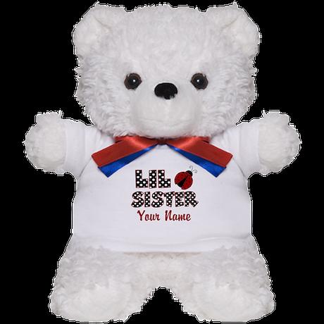 Little Sister Ladybug Teddy Bear
