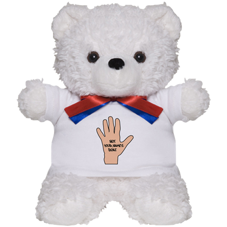 Not Pennys Boat Personalized Teddy Bear