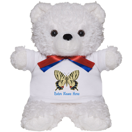 Personalized Butterfly Teddy Bear