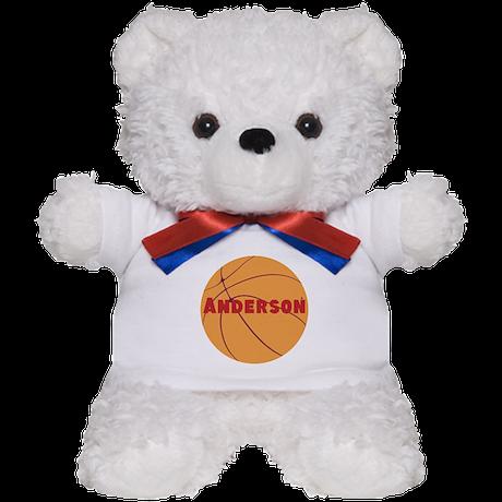 Personalized Basketball. Teddy Bear