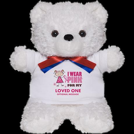 Custom Wear Pink Teddy Bear