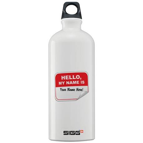 Hello Again! Sigg Water Bottle 1.0L