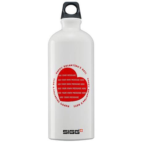 Happy Valentine's Day Sigg Water Bottle 1.0L