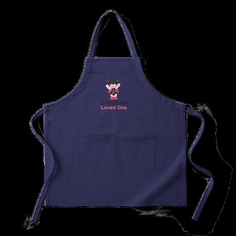 Walk For Ladybug Apron (dark)