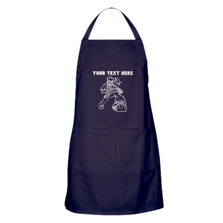 Custom Rapper Apron (dark)