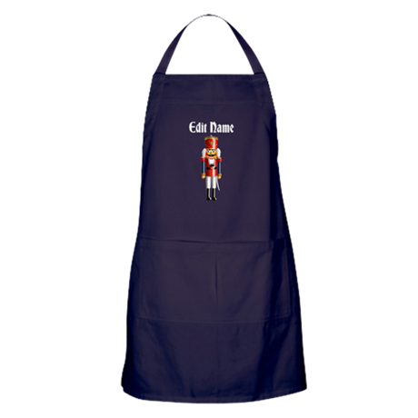 Xmas Nutcracker Apron (dark)