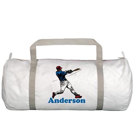 Personalized Baseball Gym Bag