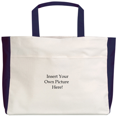 Upload your own picture Beach Tote