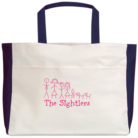Family Beach Tote