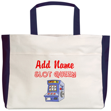 SLOT QUEEN Beach Tote