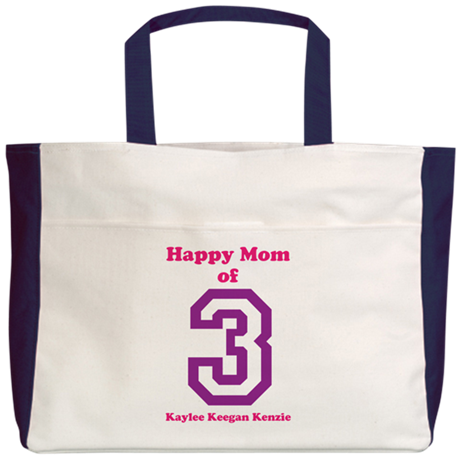 Personalized Mother Beach Tote