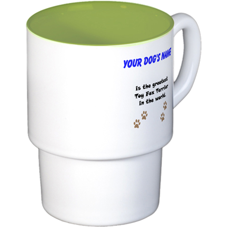 Greatest Toy Fox Terrier In The World Coffee Cups