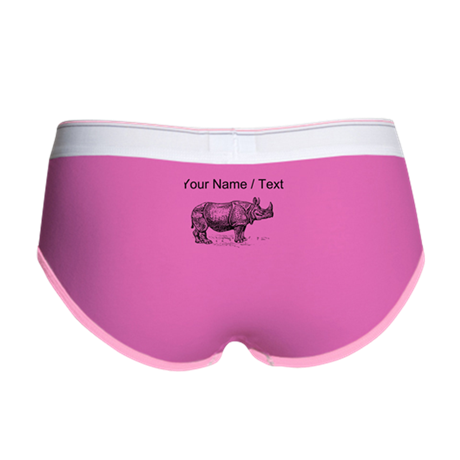 Custom Rhino Sketch Women's Boy Brief