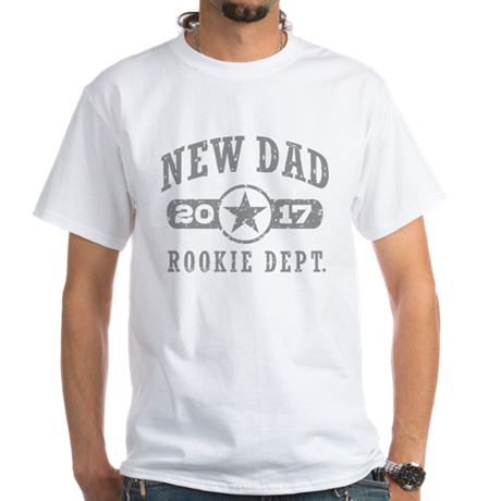 Rookie New Dad 2017 Dark T-Shirt