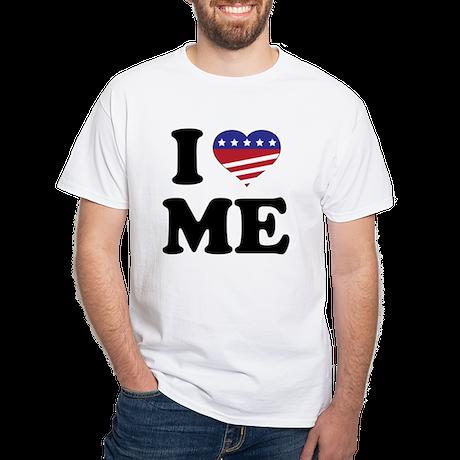 I US_Flag-Heart T-Shirt