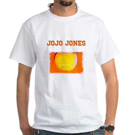 Custom Name Tennis 47 Orange Fathers Day T-Shirt