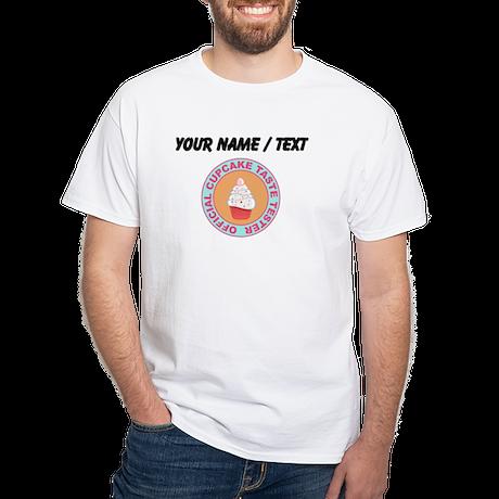 Custom Official Cupcake Taste Tester T-Shirt