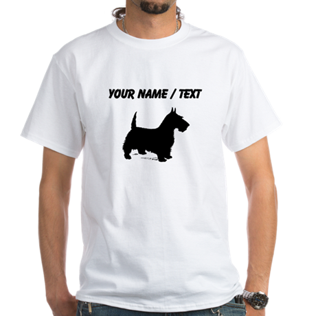Custom Scottish Terrier T-Shirt