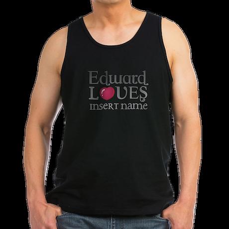Edward Loves Men's Dark Tank Top