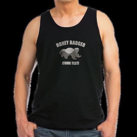 Honey Badger Custom Men's Dark Tank Top